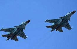 Tiêm kích Su-34 của Nga va chạm trên không