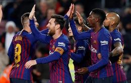 """La Liga có thể """"phá lệ"""" để Barcelona ăn mừng sớm"""