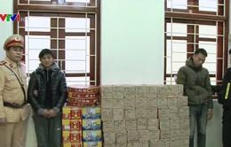 Thu giữ hơn 200kg pháo nổ tại Lạng Sơn