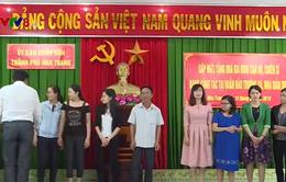 Khánh Hòa tặng quà cho thân nhân các chiến sĩ công tác tại Trường Sa