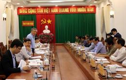 Đoàn công tác Ban Chỉ đạo Trung ương về phòng, chống tham nhũng làm việc tại Ninh Thuận