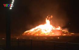 Cháy tại khu nghỉ mát ở Hà Lan