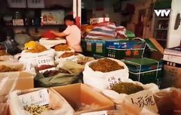 Chợ dược liệu bên kia biên giới: Giá rẻ hơn rau, số lượng không giới hạn