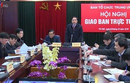 Ngành Tổ chức xây dựng Đảng tiếp tục tham mưu có hiệu quả các Nghị quyết Trung ương