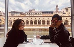 Châu Kiệt Luân và vợ sang Italy kỷ niệm ngày cưới