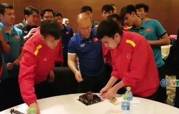 VIDEO: Đức Huy đón sinh nhật sau khi cùng ĐT Việt Nam vào tứ kết Asian Cup