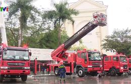 Tiếp nhận 81 xe cứu hỏa hiện đại từ Hàn Quốc