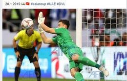 Văn Lâm lọt top 5 thủ môn có nhiều pha cứu thua nhất Asian Cup 2019