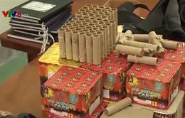 Phức tạp tình trạng vận chuyển pháo lậu tại các tỉnh miền Trung
