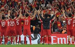 Không khí mừng chiến thắng của đội tuyển Việt Nam tại miền Trung