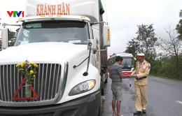 Quảng Trị tăng cường kiểm soát xe container trên Quốc lộ 9