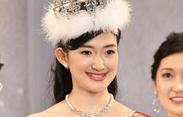 Nữ sinh 21 tuổi đăng quang Hoa hậu Nhật Bản 2019 bị chê... già chát