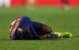 Dính chấn thương, Ousmane Dembele nghỉ 15 ngày