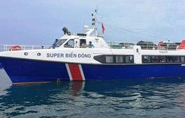 Quảng Ngãi: Tàu khách siêu tốc tông chìm tàu cá