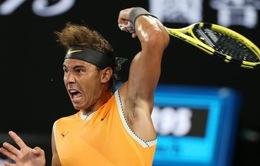 Australia mở rộng 2019: Nadal thẳng tiến vào chung kết