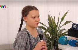 Cô bé Thụy Điển gây chấn động Diễn đàn kinh tế thế giới Davos