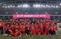 Nhìn lại 1 năm thành công của bóng đá Việt Nam