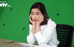 """Hoa hậu Đỗ Mỹ Linh bị """"bắt nạt"""" trong lần đầu đóng phim Tết?"""