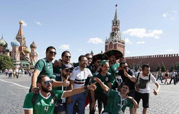 Hơn 5.000 cổ động viên nước ngoài vẫn ở Nga sau World Cup