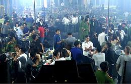 100 đối tượng dương tính với ma túy trong quán bar tại Huế