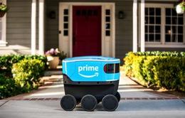 Amazon thử nghiệm giao hàng bằng robot tại Mỹ
