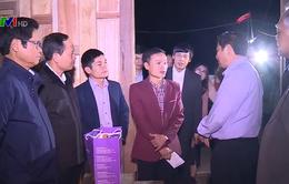 Trưởng Ban Tổ chức TƯ thăm, tặng quà nhân dân vùng lũ Thanh Hóa