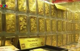 Vừa tăng mạnh, giá vàng SJC đã giảm hơn 200.000 đồng/lượng