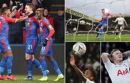 Vòng 4 FA Cup: Không có Son Heung-min, Tottenham bị loại bởi Crystal Palace