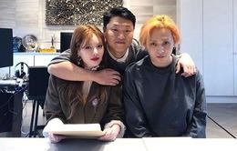 PSY chiêu mộ HyunA và người tình kém tuổi
