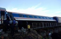 Đường sắt Bắc-Nam thông tuyến sau sự cố tàu SE1 trật bánh