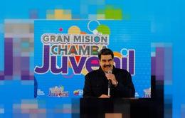 Tổng thống Venezuela bác bỏ yêu cầu tổ chức bầu cử