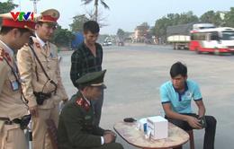 Nghệ An: Phát hiện 9 tài xế dương tính với ma túy