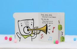 Sách Âm thanh đánh thức thính giác cho trẻ từ 0-6 tuổi