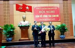 Quảng Nam bầu Bí thư Tỉnh ủy mới
