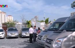 Giá cho thuê xe ngày Tết tăng cao