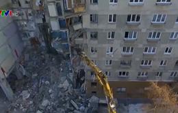 Gia tăng số người thiệt mạng trong vụ sập chung cư Nga
