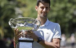 Djokovic sắp qua mặt kỷ lục gia Federer về số danh hiệu