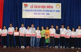 32 sinh viên An Giang được nhận học bổng Y tế Nguyễn Văn Hưởng, Khoa học kỹ thuật lần thứ 21