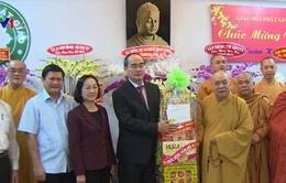 Bí thư Thành ủy TP.HCM Nguyễn Thiện Nhân thăm, chúc Tết cơ sở chức sắc tôn giáo