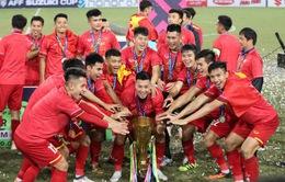 Đội tuyển bóng đá Việt Nam gửi lời cảm ơn tới người hâm mộ cả nước
