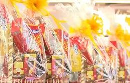 Thị trường bánh kẹo nhộn nhịp chuẩn bị Tết