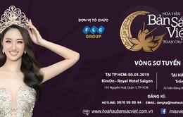 Hoa hậu Bản sắc Việt toàn cầu 2019 chính thức sơ khảo từ 5/1