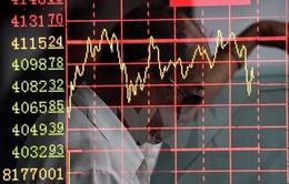 Thị trường chứng khoán châu Á tiếp tục đà giảm