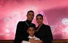 Các ngôi sao bóng đá đón chào năm mới ra sao?