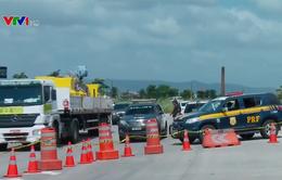Brazil huy động quân đội trấn áp tội phạm