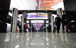 Ga tàu điện ngầm Nga khoác áo thời đại công nghệ mới