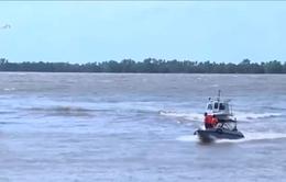 Đã tìm thấy thi thể 3 nạn nhân trong vụ chìm sà lan ở Tiền Giang