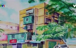 Ký ức tập thể cũ Hà Nội qua tranh ký họa