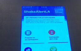 Los Angeles (Mỹ) phát hành ứng dụng cảnh báo động đất sớm