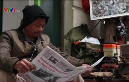 Nhịp sống phố phường qua những trang báo giấy